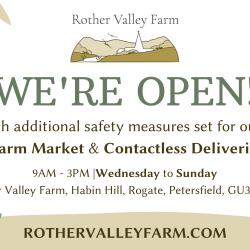 Our Farm Market Shop is open 5 days a week