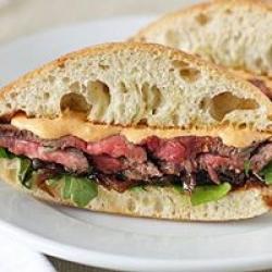 real beef sandwich