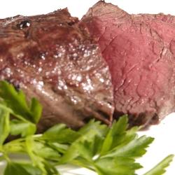 our venison striploin, tender, tasty & lean