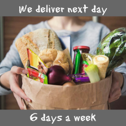 Deliver 6 days per week