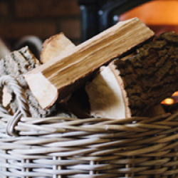 Perfect, dry firewood