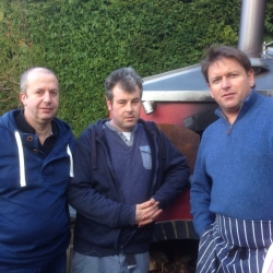 Cooking with James Martin