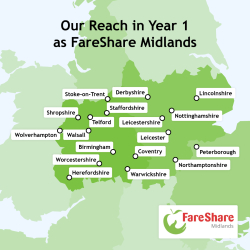 Map of Midlands