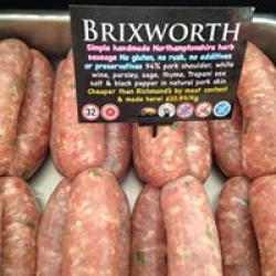 famous brixworth sausage