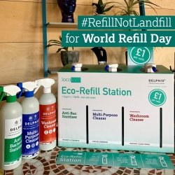 refill and share