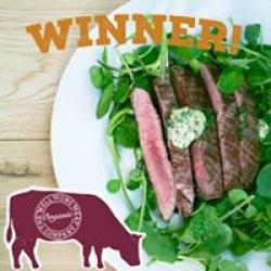 award winning beef
