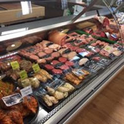 real meat counter