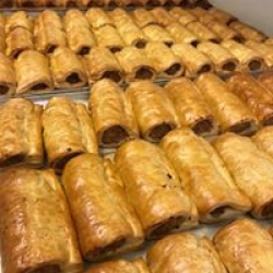 our sausage rolls