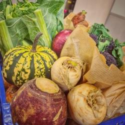 Seasonal vegetable boxes