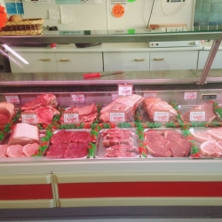 Carefully selected REAL meat