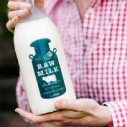 our raw milk
