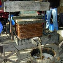 real apple press