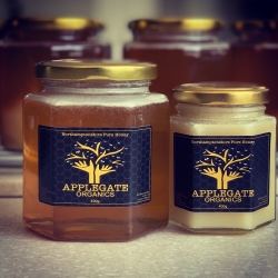 Our latest organic wildflower honey