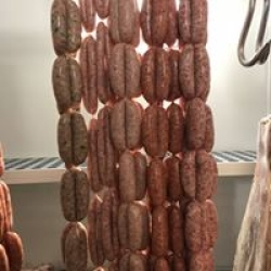 Our hand made sausages