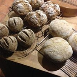 home made real bread