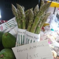 local seasonal veg