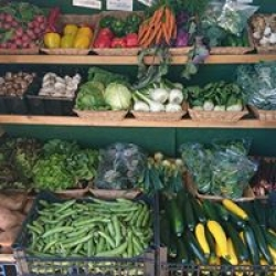 Home grown & local veg