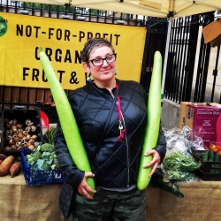 Not-4-Profit Organic Veggie stall