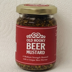 Old Hooky beer Mustard ideal with cold meats and cheese!