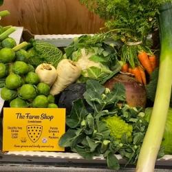 local & home grown veg