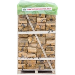 80 Nets - Kiln Dried Ash Logs