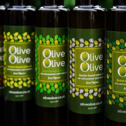 Fused olive oils