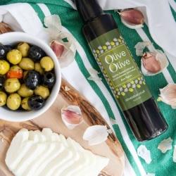 Halloumi & olive oil