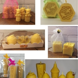 Some of our Beeswax Candles