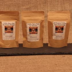 Coffee Spice Rubs