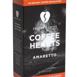 Shelton's Coffee Hearts Amaretto