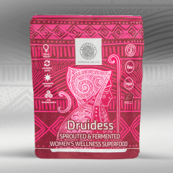 Druidess - Sprouted and Fermented Organic Superfood for Women