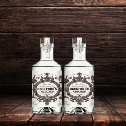 Beckfords 20cl Duo-Gift - White Pearl Coconut Rum 25%