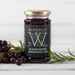 Blackcurrant & Rosemary Jam, 250g