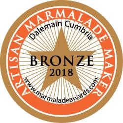 gin marmalade bronze award