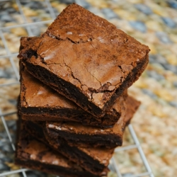 Brownies made with our West African Chocolate