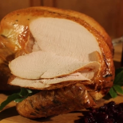 Carving turkey