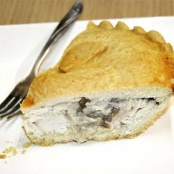 Chicken & Chestnut Mushroom Pie