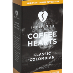 Shelton's Coffee Hearts Colombian