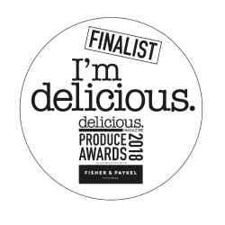 West African 70% Chocolate is a Delicious Magazine Produce Awards 2018 Finalist•	#produceawards18