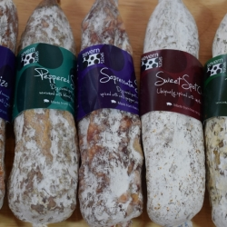 Severn Spots Salami and Chorizo