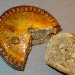 Pork Pie with Pickle