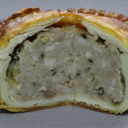 Pork Pie with Cracked Black Pepper