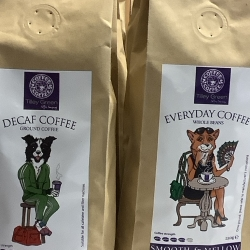 Tilley Green Coffee Beans and Ground Coffee