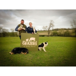 Steve and Jess from Grazers