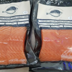 Farmed Organic Glenarm Salmon