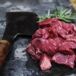 Longhorn diced beef