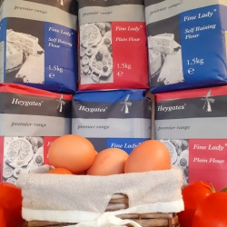 Local Flour & Free Range Eggs