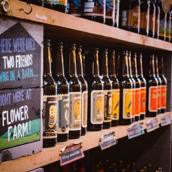 Flower Farm shop The Godstone Brewers beer