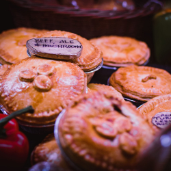 Flower Farm shop pies