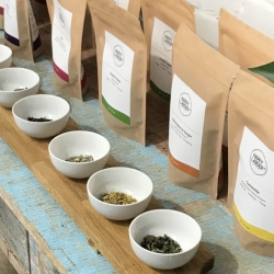 Ethical loose-leaf teas and herbal infusions
